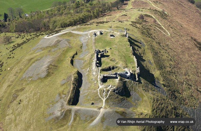 Dinas Bran Iron Age Hill Fort & Castle, Llangollen, North Wales